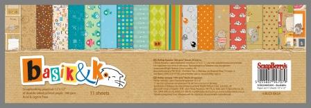 Scrapbooking paper set 12