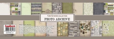 Paper Collection Set Photo Archive (12*12-190GSM) , 12 Sheets