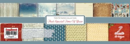 That Special Time of Year Paper Set 12x12 190gsm (13 sheets per pack)