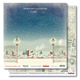 Double-sided paper 12x12 That Special Time of Year Christmas Fair 190gsm (10 sheets per pack)
