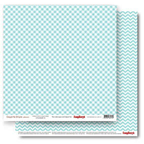 Double-sided Paper Set Elegantly Simple (Perfect Picnic) Limpet Shell (12*12–190GSM), 10 Sheet Pack