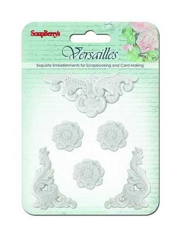 Set of polymer items Versailles 7