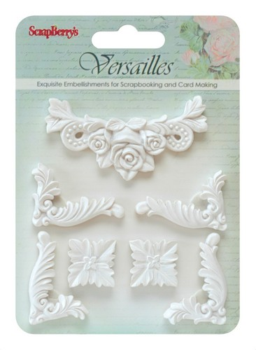 Set of polymer items Versailles 8