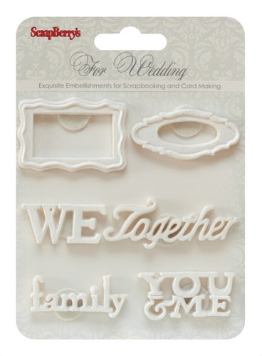 Set of polymer items Wedding 2
