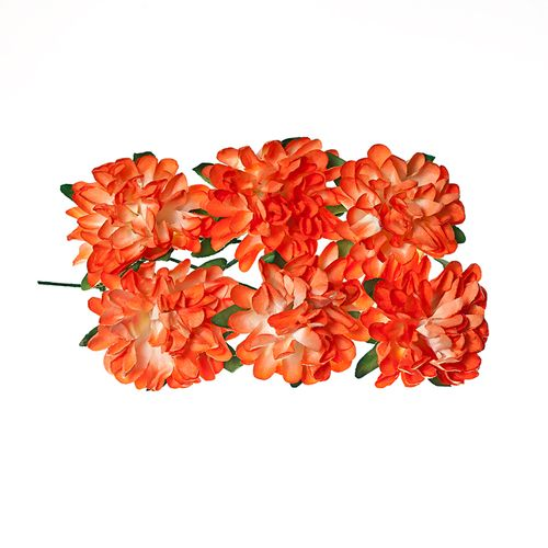 Paper Flowers – Daisy - Coral (8 Pieces Per Pack)