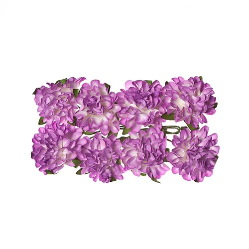Paper Flowers – Daisy - Lilac (8 Pieces Per Pack)