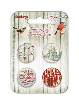 Set of embellishments №1-1 That Special Time of Year