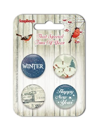 Set of embellishments №3-1 That Special Time of Year