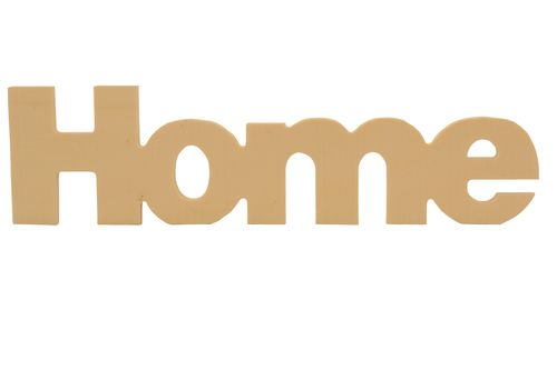 Wooden lettering * Home * on suspensions 25x7сm