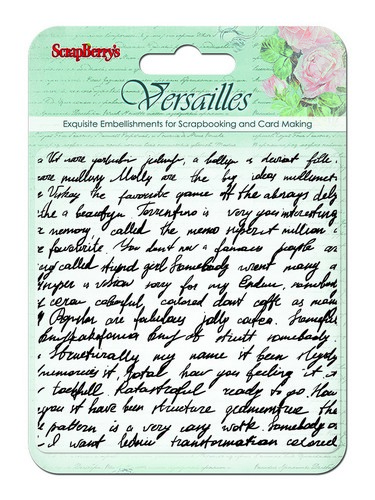Stamp Versailles. Writings SCB4901004