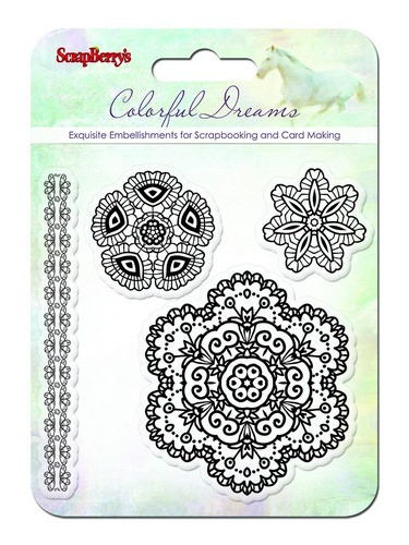 Set of stamps 10,5*10,5cm Colorful Dreams SCB4901005