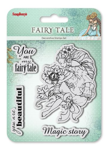 Set of stamps 10,5*10,5cm Fairy tale. You are my Fairy tale SCB4904011b