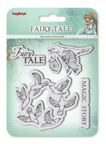 Set of stamps 10,5*10,5cm Fairy tale. Magic story SCB4904012b