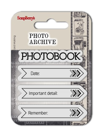 Set of clear stamps (7*7cm) Photo Archive – Calendar
