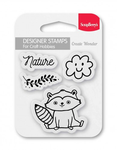 Set of stamps 7*7 cm Nature