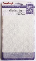 Embossing folder 106*150mm DAISY DELIGHT