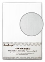 Blank Cards 11.5x16.5cm 280GSM (5 Pieces per Pack)
