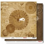 Double-sided Paper Collection Set Mechanical Illusions - Nautilus (12*12–190GSM), 1 Sheet