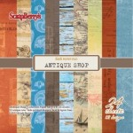 Paper Collection Set Antique Shop (6*6-170GSM), 24 Single Sided Sheet Pack