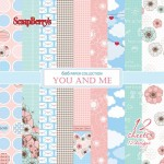 Paper Collection (6*6 - 190gsm) You And Me (12 Sheet Multi-Design Set)
