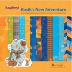 Paper Collection Set Basik's New Adventure (6*6-190GSM), 24 Single Sided Sheet Pack
