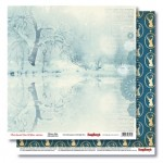 Double-sided paper 12x12 That Special Time of Year Frozen Lake 190gsm (10 sheets per pack)