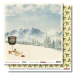 Double-sided paper 12x12 That Special Time of Year Sleigh Rides 190gsm (10 sheets per pack)