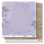 Double-sided paper 12x12 The Romance of Xmas Winter Lilac 190gsm (10 sheets per pack)