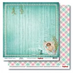 Double-sided Paper Set Mother's Treasure - Bath Time (12*12–190GSM), 10 Sheet Pack