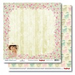 Double-sided Paper Set Mother's Treasure - Joy (12*12–190GSM), 10 Sheet Pack