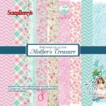 Mother's Treasure- Paper Set 6x6 190gsm (24 sheets per pack)