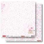 Double-sided Paper Set My Little Star - Miss Cutie (12*12–190GSM), 10 Sheet Pack