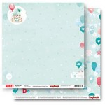 Double-sided Paper Set My Little Star - Baby Blue (12*12–190GSM), 10 Sheet Pack