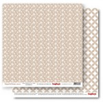 Double-sided Paper Set Elegantly Simple (Classic Wallpaper) Iced Coffee (12*12–190GSM), 10 Sheet Pack