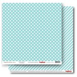 Double-sided Paper Set Elegantly Simple (Gift Wrap) Limpet Shell (12*12–190GSM), 10 Sheet Pack