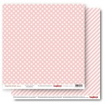 Double-sided Paper Set Elegantly Simple (Gift Wrap) Rose Quartz (12*12–190GSM), 10 Sheet Pack