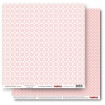 Double-sided Paper Set Elegantly Simple (Daisy Chains) Rose Quartz (12*12–190GSM), 10 Sheet Pack