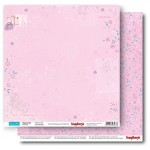 Double-sided Paper Set Young and Free - Pretty In Pink (12*12–190GSM), 10 Sheet Pack