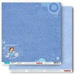 Double-sided Paper Set Young and Free - Sketching The Stars (12*12–190GSM), 10 Sheet Pack