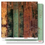 Double-sided Paper Set (12*12-190GSM) Edge of Town - Out Of Time ,1 Sheet, Sold in Multipack of 10