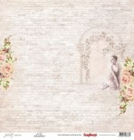 Single-sided Paper Set (12*12-190GSM) Juliet - Juliet ,1 Sheet, Sold in Multipack of 10