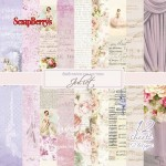 Paper Collection Set Juliet (6*6-190GSM), 12 Single Sided Sheet Pack