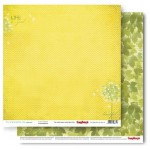 Double-sided Paper Set (12*12-190GSM), It's A Wonderful Life - A Soft Breeze , 1 Sheet
