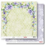 Double-sided Paper Set (12*12-190GSM), Happily Ever After - Together Forever , 1 Sheet
