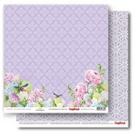 Double-sided Paper Set (12*12-190GSM), Happily Ever After – Lace , 1 Sheet