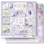 Double-sided Paper Set (12*12-190GSM) Happily Ever After - Cards 2 , 1 Sheet