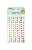 Adhesive pearls 120pcs/4 colors, Kids' Fun 2