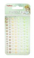 Adhesive pearls 120pcs/4 colors, Fairy Tale 1