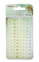 Adhesive pearls 120pcs/4 colors, Fairy Tale 2