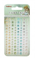 Adhesive gems 120pcs/4 colors, Fairy Tale